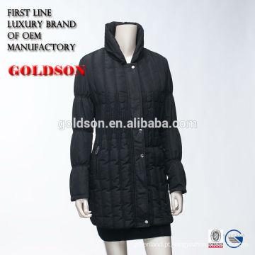 Casaco acolchoado de inverno acolchoado Super fino 2017 para mulheres made in China