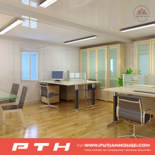 Prefabricated Modular Container House as Temporary Office