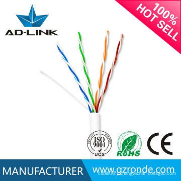 Cat5e cabo de rede fabricado na china fabricante ouro desde 1995