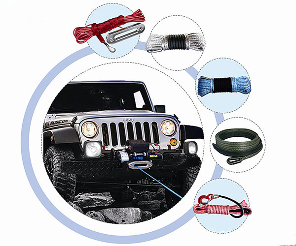 synthetic winch rope