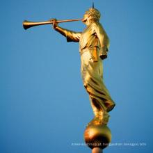 Venda quente Bronze mormon angel moroni statue