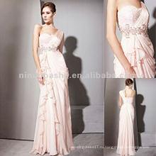 Нью-Йорк-2538 один ремень розовый лето шифон платье