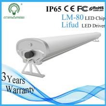 IP65 Alta Lumens 1200mm 40W Tri-Proof LED Light