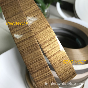 Kayu Gloss High PVC Edge Banding