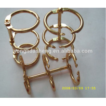 Fornecedor da China eco-friendly e de alta qualidade 3 anel ligador conectando hardware anel