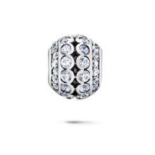Löschen CZ Europäische Perlen 925 Silber Schmuck