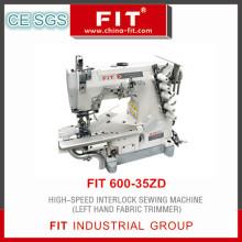 Высокая скорость блокировки швейная машина левая рука ткань триммер (600-35ZD)
