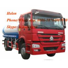 4x2 6 wheels 5000 Liters fuel tanker truck