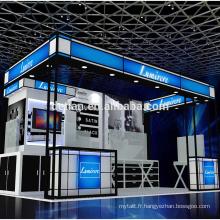 Detian offre salon généreux stand d'exposition conception modulaire stand expo mode