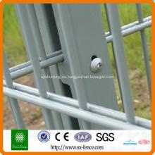 valla de malla de alambre duro