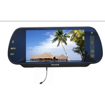7-дюймовый цифровой зеркало заднего вида Монитор USB SD Bluetooth