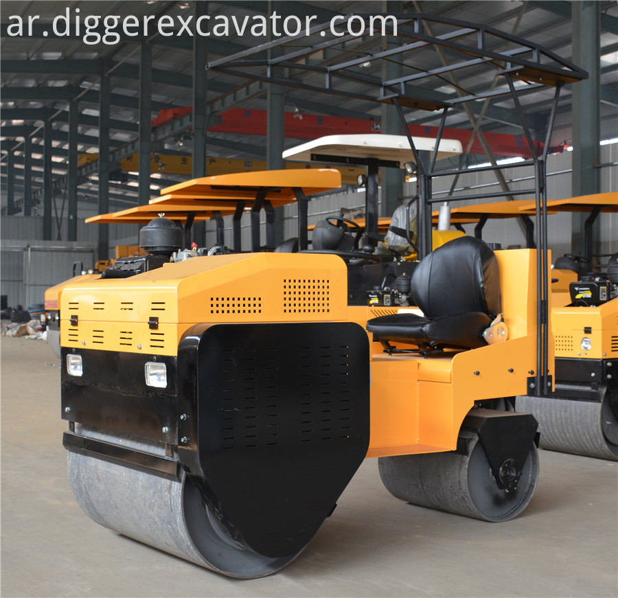 2 Ton Construction Machine Vibratory Road Roller