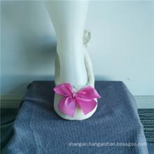 Sweet Princess Polyester Bowknot Slippers Socks