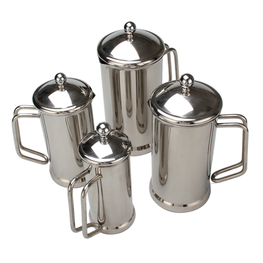 Satin Polishing Coffee French Press