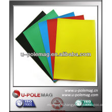 Colorful Flexible Rubber Magnetic sheet