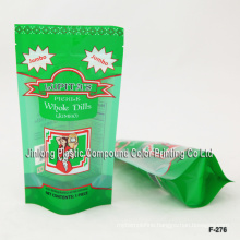 Plastic Food Packaging Bag with Zipper