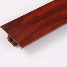 Hebei Factory Holz Farbe thermische Pause Aluminiumprofile
