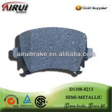 D1108 zapata de freno semi-metálica para Audi A6L R