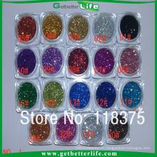 Getbetterlife sûr nombreuses couleurs temporaire 8 g paillettes encre de tatouage