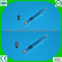 1ml de jeringa de vidrio preenvasado Luer Lock