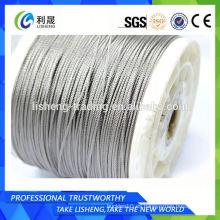 Ss 316l 1x19 Cuerda de alambre de acero inoxidable para Industrial