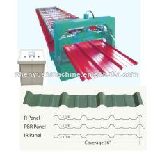 PBR и IBR металлическая крыша, формирующая машину_ $ 6000-12000 / комплект