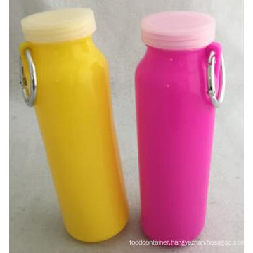 20 Oz Fassion Design Silicone Folding Water Bottle