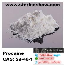 Pharmaceutical Raw Materialcas 59-46-1 Procain Basis für Anti-Schmerzanästhesie