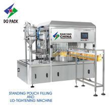 DQ-5 Máquina de llenado y llenado de bolsas de caño completamente automática