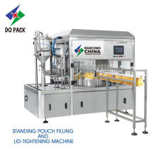 Stand up machine de remplissage de sachets pour jus liquide