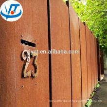 A588 Corten chapa de aço / folha / corten A / B / SPA-H preço do aço corten