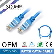 SIPU 8 пары Дешевые Цена rj45 разъем 1 метр utp cat.5e патч кабель с дешевой цене