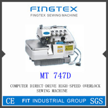 Computer Direct Drive High Speed Overlock Sewing Machine (MT747D)