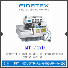 Computer Direct Drive High Speed Overlock Sewing Machine (747D)