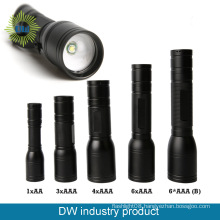 640Lumens Aluminum Flashlight