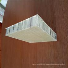 Panel de panal de superficie rugosa FRP
