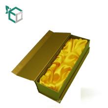 Подгонянная Рециркулированная бумага картона коробку бутылки вина Упаковывая с бумажной вставкой