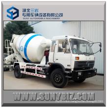 190HP Rhd Dongfeng 6 Cubic 4X2 Concrete Mixer Truck