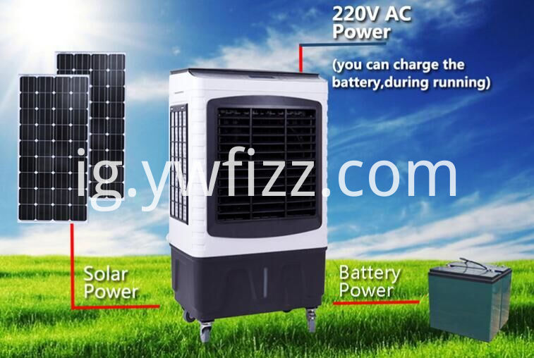 Mobile Solar Air Refrigerator