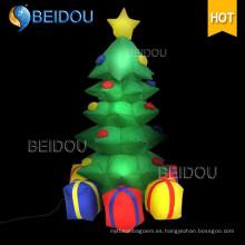 Árboles de Navidad al por mayor iluminación gigante árbol de Navidad inflable