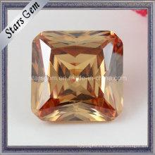 Octagon Cuadrado Princesa Corte Cubic Zirconia