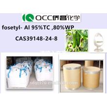 Fungicida eficaz de alta calidad, Phosethyl Al 95% TC, 80% WP, Phosethyl Al 95% TC, 80% WP