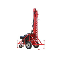 Gasoline Engine Mobile DTH Drilling Rig Machine price