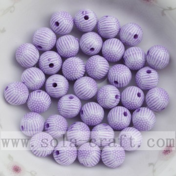 Fashion round Washed jewelry acrylic accessory bead