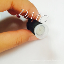 Перманентный макияж черный пластик кольцо чернила чашка & татуировка пигмент палец чашка с губкой