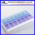 Deux semaines de haute qualité Logo personnalisé Pillbox (EP-036)