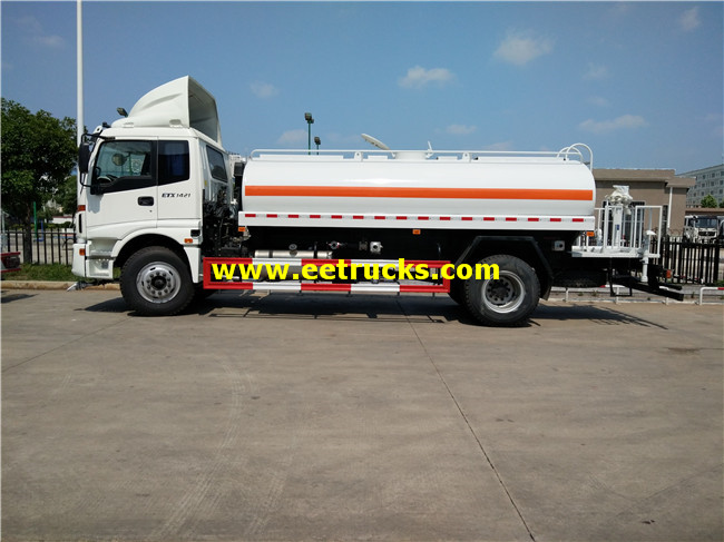 Spray Water Tanker Trucks