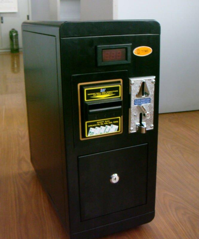 COMTEK coin and bill operated vending machine on massage chair(RKTZ112D)