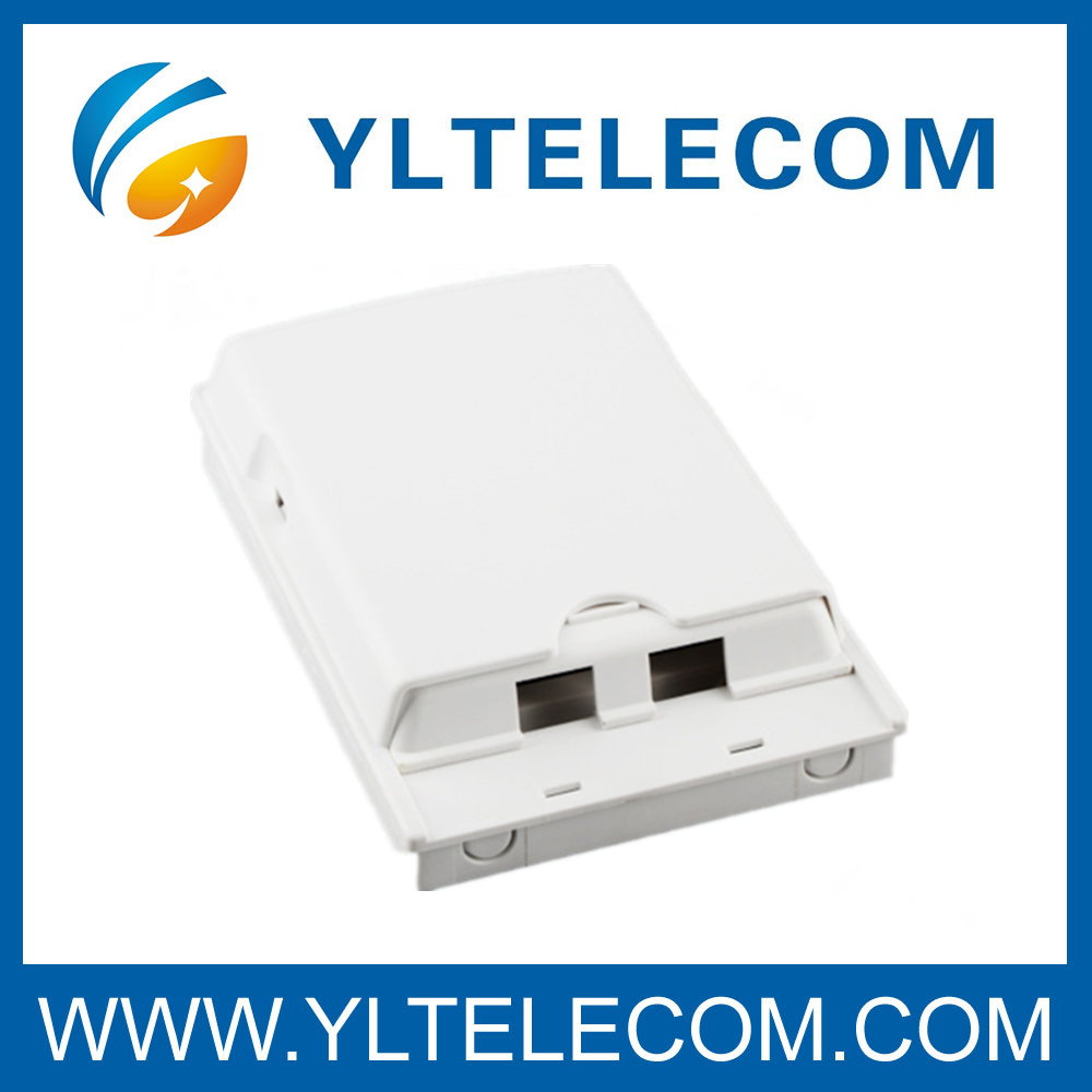 Wall Mounted Indoor Plastic 2 Core Terminal Box