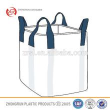 2015 nuevo diseño Venta caliente de alta calidad de bajo costo fibc ventilado big bags 1000 kg china 1 ton a granel bolsas de ZHONGRUN CONTENEDORES